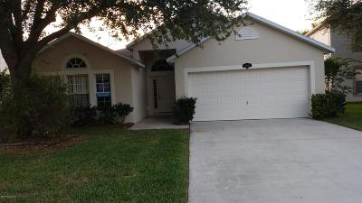 Titusville Single Family Home For Sale: 1189 Macon Drive