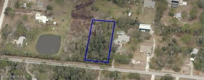 Brevard County Residential Lots & Land For Sale: 4060 Peppertree Street