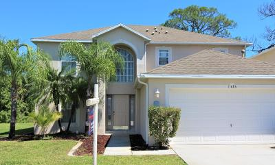 Palm Bay Single Family Home For Sale: 1616 La Maderia Drive SW
