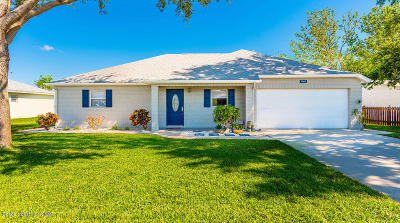 Titusville Single Family Home For Sale: 4140 Tiwa Lane