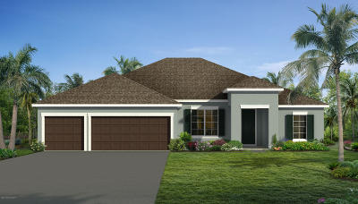 Palm Bay Single Family Home Contingent: 727 Dove Landing Avenue