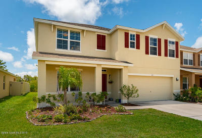Melbourne Single Family Home For Sale: 4617 Amaca Bay Lane