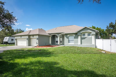 Melbourne Single Family Home For Sale: 2510 Shoff Lane