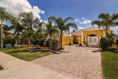 Wingate Estates Phase Four Viera North P.u.d.-parc Single Family Home For Sale: 4343 Browning Lane