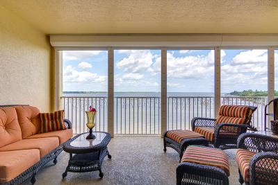 Merritt Island Condo For Sale: 480 Sail Lane #403