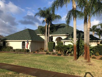 Titusville Single Family Home For Sale: 1855 Lakeside Drive