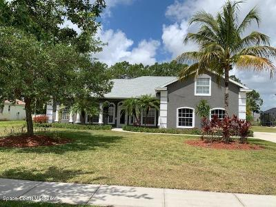 Palm Bay Single Family Home Backups: 1772 Winding Ridge Circle SE