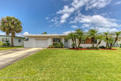 Cocoa Beach Single Family Home For Sale: 354 Angelo Lane