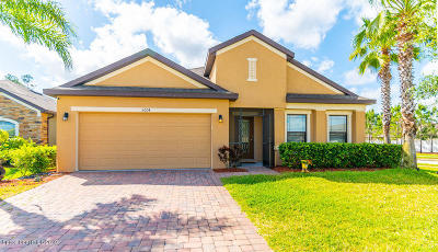 Cocoa Single Family Home For Sale: 5004 Brilliance Circle