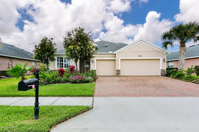 Brevard County Single Family Home For Sale: 3891 Funston Circle