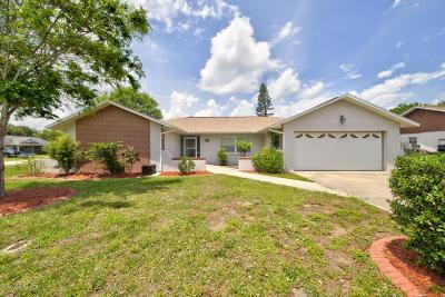 Merritt Island Single Family Home For Sale: 2545 Elm Hurst Street
