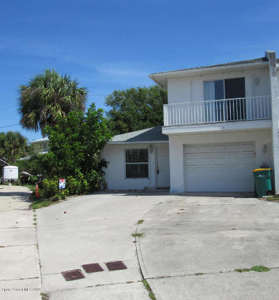 Indialantic Townhouse For Sale: 328 Ocean View Lane