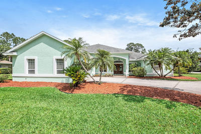 Mims Single Family Home For Sale: 5680 Bob White Trail