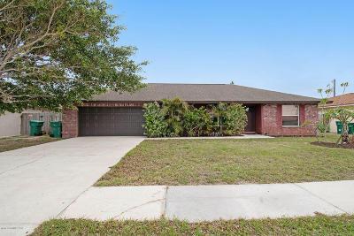 Satellite Beach Single Family Home For Sale: 315 Jackson Avenue