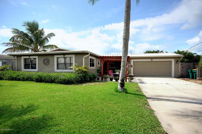 Indialantic, Indialantic, Fl, Indialantic/melbourne, Indialntic, Indian Harb Bch, Indian Harbor Beach, Indian Harbour Beach, Indiatlantic, Melbourne Bch, Melbourne Beach, Satellite Bch, Satellite Beach Single Family Home For Sale: 432 Penguin Drive