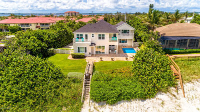 Viera, Melbourne, Indialantic, Satellite Beach, Melbourne Beach, Cocoa Beach, Eau Gallie, Palm Shores, Indian Harbour Beach, West Melbourne Single Family Home For Sale: 3185 S Highway A1a