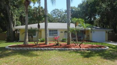 Palm Bay Single Family Home Contingent: 1282 Cricket Drive NE