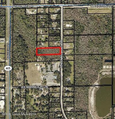 Titusville Residential Lots & Land For Sale: 3105 Knox McRae Drive