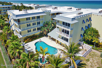 Melbourne Beach, Indian Harbour Beach, Indialantic, Cocoa Beach, Cape Canaveral, Port Canaveral, Satellite Beach Condo For Sale: 1 Eighth Avenue #1202