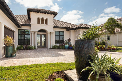 Cocoa Beach, Melbourne, Titusville, Viera Single Family Home For Sale: 2550 Pimlico Lane