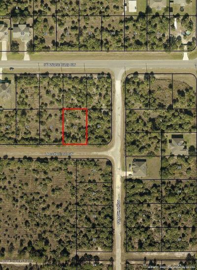 Palm Bay Residential Lots & Land For Sale: 415 La Gorce & La Gorce(Frantz) Street SW