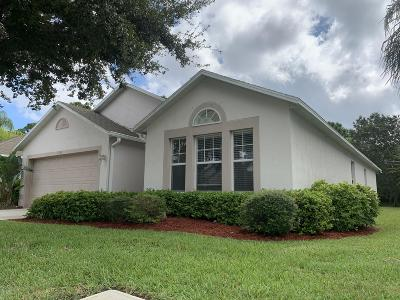 Palm Bay Single Family Home For Sale: 1736 La Maderia Drive SW