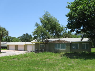 Brevard County Single Family Home For Sale: 3111 Highway 1