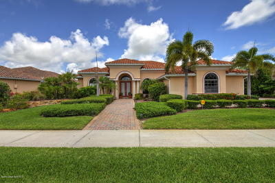 Brevard County Single Family Home For Sale: 3681 Thurloe Drive
