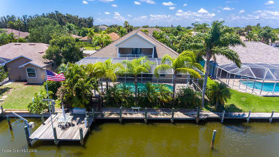 Merritt Island Single Family Home For Sale: 2042 Sykes Creek Drive