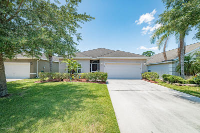Palm Bay Single Family Home For Sale: 241 SW Wishing Well Circle SW