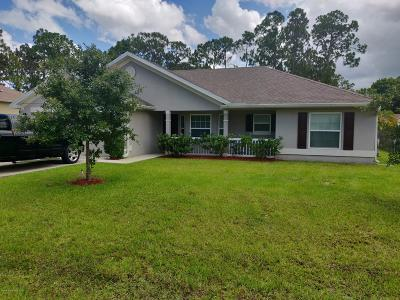 Palm Bay Single Family Home For Sale: 426 Harrisburg Street SW