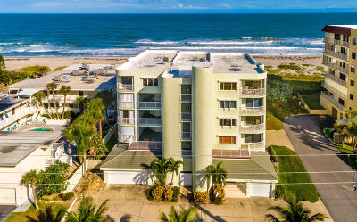 Cocoa Beach Condo For Sale: 3031 S Atlantic Avenue #302