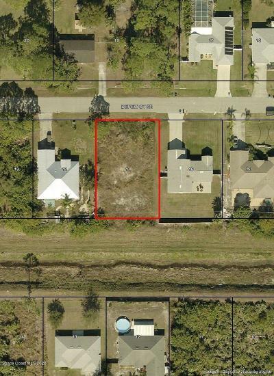 Palm Bay Residential Lots & Land For Sale: 1467 Depew Street SE