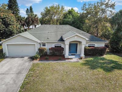 Sebastian Single Family Home For Sale: 109 Redgrave Drive