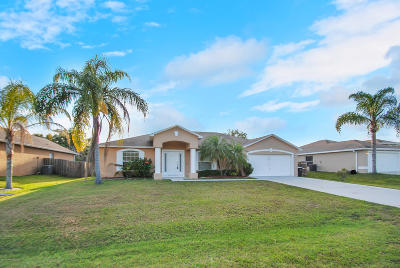 Brevard County Single Family Home For Sale: 1654 Barnes Avenue NW