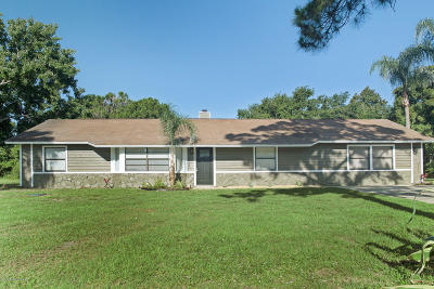 Mims Single Family Home For Sale: 4350 Hunter Road