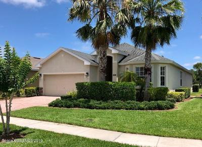 Palm Bay Single Family Home For Sale: 2331 Trail Ridge Court SE