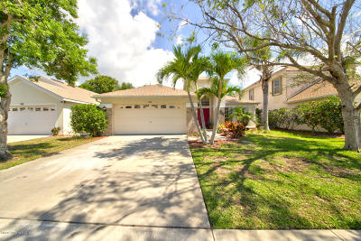 Merritt Island Single Family Home For Sale: 1189 Potomac Drive