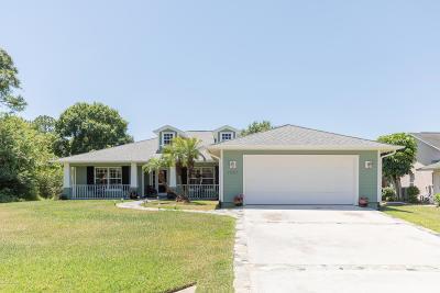 Sebastian Single Family Home For Sale: 1521 Ridgely Lane
