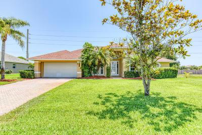 Vero Beach Single Family Home For Sale: 6350 Park Chester Terrace
