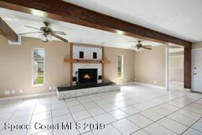 Cocoa Single Family Home For Sale: 2552 Stratford Drive