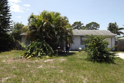 Sebastian Single Family Home For Sale: 149 Caprona Street
