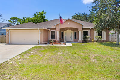 Cocoa Single Family Home Contingent: 4585 Greenhill Street