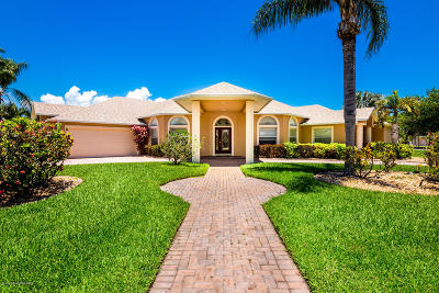 Rockledge Single Family Home For Sale: 1632 Quinn Drive