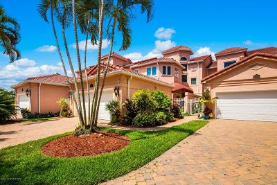 Melbourne Beach FL Townhouse For Sale: $685,000
