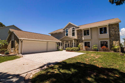 Merritt Island Single Family Home For Sale: 1245 Faulkingham Road