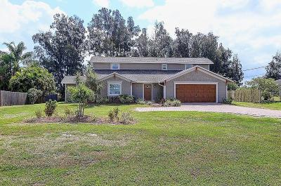 Merritt Island Single Family Home For Sale: 2720 S Courtenay Parkway
