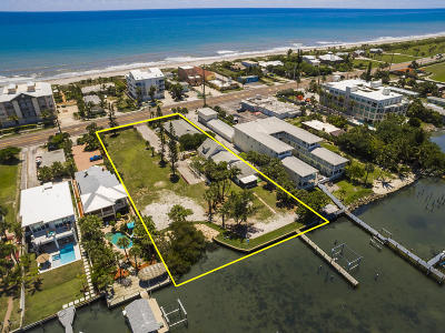 Cocoa Beach, Melbourne, Titusville, Viera Multi Family Home For Sale: 3444 S Atlantic Avenue