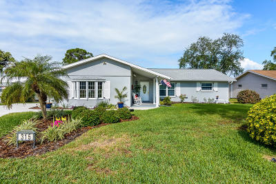 Merritt Island Single Family Home For Sale: 315 Newfound Harbor Drive