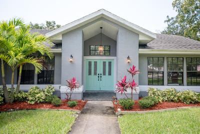 Rockledge Single Family Home For Sale: 1254 Water Lily Lane